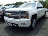 2014 White Diamond Tricoat Chevrolet Silverado 1500 High Country Crew Cab 4x4 #95946023