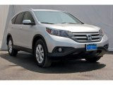 2014 Alabaster Silver Metallic Honda CR-V EX-L #95989192