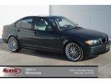 2003 Oxford Green Metallic BMW 3 Series 325i Sedan #95989235