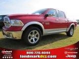 2014 Flame Red Ram 1500 Laramie Crew Cab #96014026