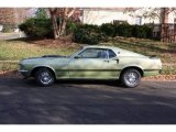 1969 Ford Mustang Lime Gold