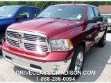 2014 Deep Cherry Red Crystal Pearl Ram 1500 SLT Crew Cab 4x4 #96014211