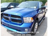 2014 Blue Streak Pearl Coat Ram 1500 Express Crew Cab 4x4 #96014210