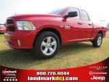 2014 Flame Red Ram 1500 Express Quad Cab #96014023