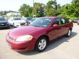 2006 Sport Red Metallic Chevrolet Impala LT #96014065