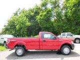2014 Vermillion Red Ford F150 XL Regular Cab 4x4 #96014000