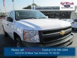 2013 Summit White Chevrolet Silverado 1500 Work Truck Extended Cab #96013991