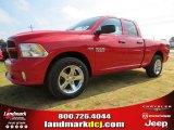 2014 Flame Red Ram 1500 Express Quad Cab #96014027