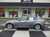 2011 Space Gray Metallic BMW 3 Series 335d Sedan #96014158