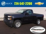 2014 Tungsten Metallic Chevrolet Silverado 1500 WT Regular Cab 4x4 #96045461