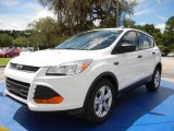 2014 Oxford White Ford Escape S #96045211