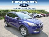 2014 Deep Impact Blue Ford Escape Titanium 2.0L EcoBoost 4WD #96045264