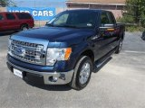 2014 Blue Jeans Ford F150 XLT SuperCab #96045189