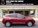 2012 Cayenne Red Nissan Rogue S AWD #96045246