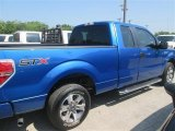 2014 Blue Flame Ford F150 XLT SuperCab #96045162