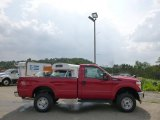 2015 Vermillion Red Ford F250 Super Duty XL Regular Cab 4x4 #96045068