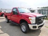2015 Ford F250 Super Duty XL Regular Cab 4x4 Front 3/4 View