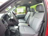 2015 Ford F250 Super Duty XL Regular Cab 4x4 Front Seat