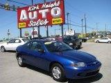 2003 Arrival Blue Metallic Chevrolet Cavalier Coupe #9558900
