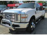 2010 Oxford White Ford F350 Super Duty Lariat Crew Cab 4x4 Dually #96045480