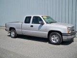2004 Silver Birch Metallic Chevrolet Silverado 1500 LS Extended Cab #9558588
