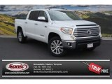 2014 Super White Toyota Tundra Limited Crewmax 4x4 #96086050