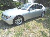 2003 Titanium Silver Metallic BMW 7 Series 745i Sedan #96086600