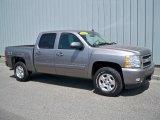 2008 Graystone Metallic Chevrolet Silverado 1500 LTZ Crew Cab 4x4 #9558598