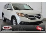 2014 White Diamond Pearl Honda CR-V EX-L #96086117