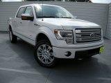 2014 White Platinum Ford F150 Platinum SuperCrew 4x4 #96125577