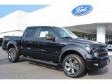 2014 Tuxedo Black Ford F150 FX4 SuperCrew 4x4 #96125505