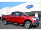 2014 Ruby Red Ford F150 XLT SuperCab #96125504