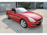 2014 Mars Red Mercedes-Benz SLK 250 Roadster #96125683
