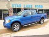 2014 Blue Flame Ford F150 STX SuperCab 4x4 #96160698