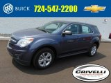 2014 Atlantis Blue Metallic Chevrolet Equinox LS AWD #96160532