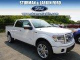 2014 White Platinum Ford F150 Limited SuperCrew 4x4 #96160370
