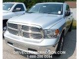 2014 Bright Silver Metallic Ram 1500 SLT Crew Cab 4x4 #96160558