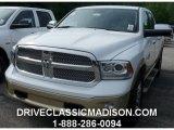 2014 Bright White Ram 1500 Laramie Longhorn Crew Cab 4x4 #96160555