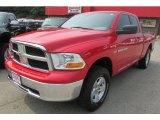2011 Flame Red Dodge Ram 1500 SLT Quad Cab 4x4 #96160553