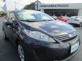 2013 Violet Gray Ford Fiesta S Sedan #96218752