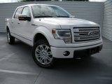 2014 White Platinum Ford F150 Platinum SuperCrew 4x4 #96222981
