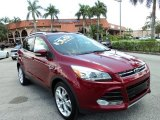 2013 Ruby Red Metallic Ford Escape Titanium 2.0L EcoBoost #96222831