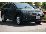 2012 Crystal Black Pearl Honda CR-V EX #96222907