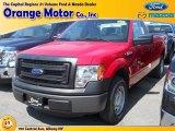 2014 Vermillion Red Ford F150 XL Regular Cab #96222954