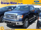2014 Blue Jeans Ford F150 XLT SuperCab 4x4 #96222952