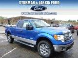 2014 Blue Flame Ford F150 XLT SuperCab 4x4 #96249080