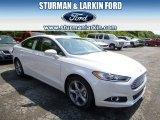 2015 White Platinum Metallic Ford Fusion SE #96249079