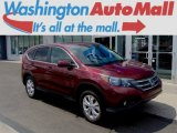 2012 Basque Red Pearl II Honda CR-V EX 4WD #96249062