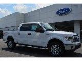 2014 Oxford White Ford F150 XLT SuperCrew 4x4 #96249152
