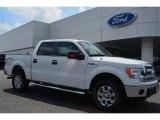 2014 Oxford White Ford F150 XLT SuperCrew 4x4 #96249151